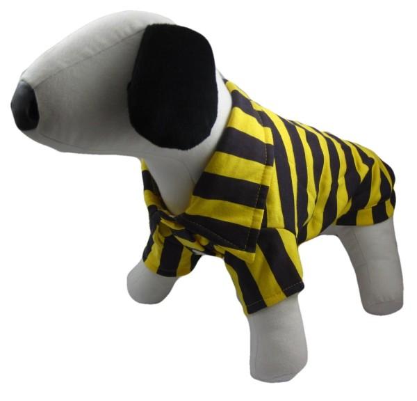 Alfie Couture Designer Pet Apparel - Quinn Striped T-Shirt-2