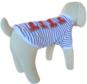 Roll over image to zoom in UP Collection The Nautical Look T-Shirt for Dogs-2