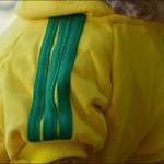 Angel Mall Adidog Hoodie Pet Clothes Dog Sweater Puppy Sweatshirt Warm Small Coat Christmas Gift 1-pc Set (Yellow)-4