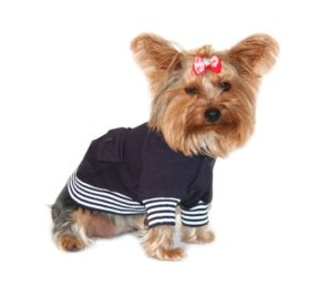 Navy Boy Pet Jacket