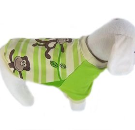 UP Collection The Monkey Around T-Shirt for Dogs, XX-Small-2