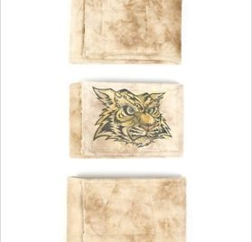 """Peter Pads Dog Belly Bands Pack of 3 - Tiger & Plain - LG (17.5""""-22"""" long x 4"""" wide)-1"""