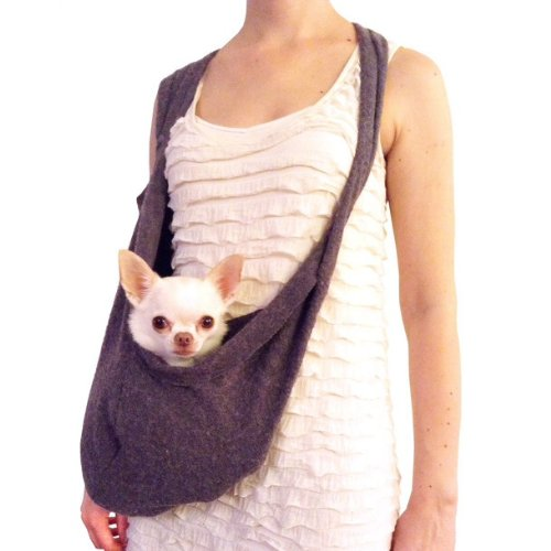 Shark Tank Sale Scarf Sling Dog Carrier With Harness Clip