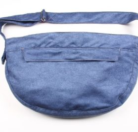 Cuddle Carrier for Dogs by Susan Lanci - Denim