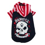Alfie Couture Designer Pet Apparel - Sawyer Striped Hoodie-5