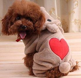 The Best U Want Adorable Dog Coat for Dog Hoodie Dog Clothes Soft Cozy Pet Clothes Pet Coat - 1