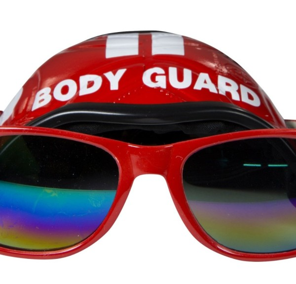 Cool Dog Hat & Shades (Body Guard) - 1
