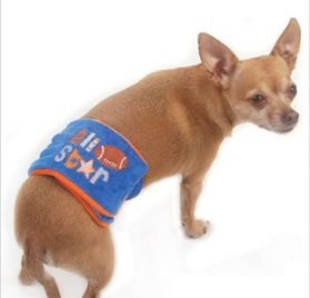 "All Star Football Belly Band for Dogs - XS (10""-13"" Rear Girth) - 1"