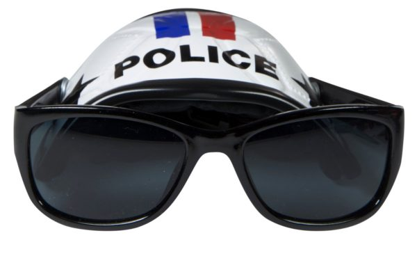 Cool Dog Hat & Shades (Police) - 1