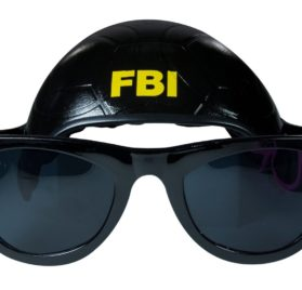 Cool Dog Hat & Shades (FBI) - 1