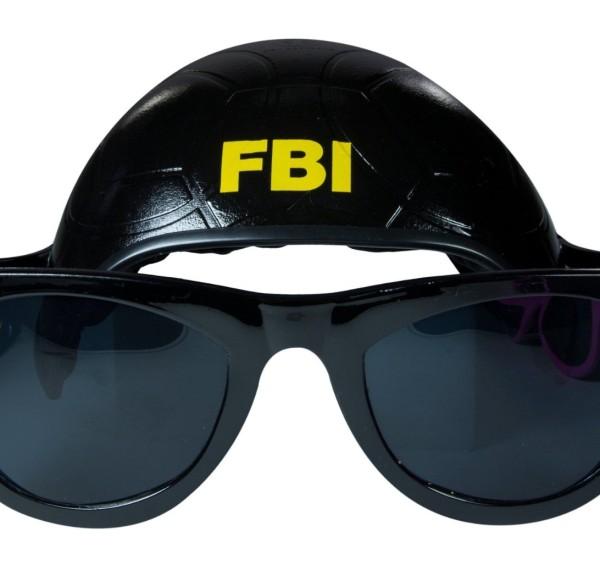 Cool Dog Hat & Shades (FBI) - 1