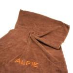 Alfie Pet by Petoga Couture - Hudson Dog Travel Adjustable Backpack Carrier with Microfiber Fast-Dry Towel Set - Color: Camouflage - 2