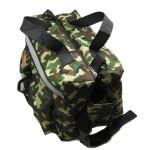 Alfie Pet by Petoga Couture - Hudson Dog Travel Adjustable Backpack Carrier with Microfiber Fast-Dry Towel Set - Color: Camouflage - 3