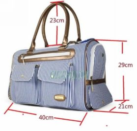 Fashion Dog Carrier Dog Handbag Dog Purse Tote Bag Pet Cat Dog Hiking Backpack + Dog Bandana - 2