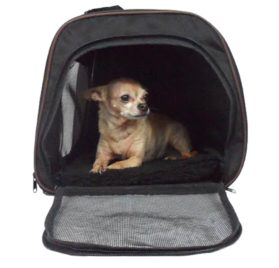 Pawfect Pet-Large Black Soft Sided Travel Pet Carrier for Dog or Cat. Airline Approved For In Cabin Under Seat Storage. 100% Risk Free Purchase with Full Replacement Guarantee. - 3