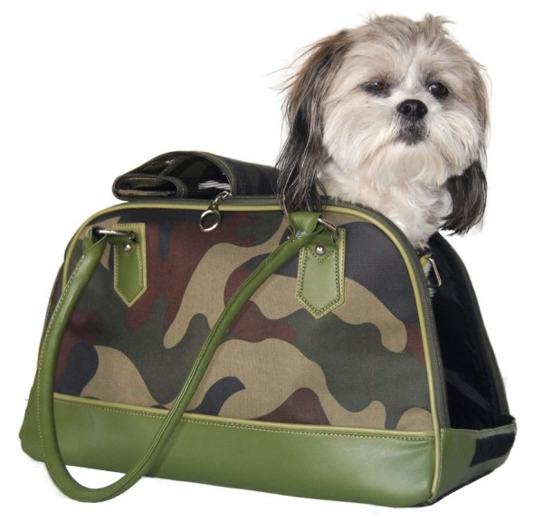 Anima Green Camo Carrier, 16-Inch by 8-Inch by 10-Inch