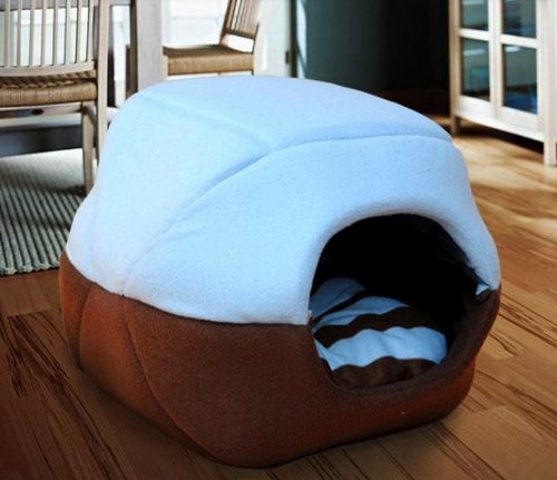2 In 1 Pet Dog Cat House Sofa Kennel Pet Bed Small