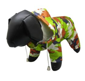 Alfie Pet Apparel - Reni Waterproof Camouflage Raincoat for Dogs - 1