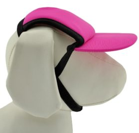 PlayaPup Sun Protective Dog Visor (Female Dog Hat, UPF 50+) - 1