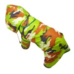 Alfie Pet Apparel - Reni Waterproof Camouflage Raincoat for Dogs - 4