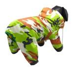 Alfie Pet Apparel - Reni Waterproof Camouflage Raincoat for Dogs - 5