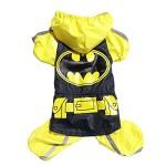 Dogloveit Superhero Style Waterproof Raincoat Dog Costume For Pet Puppy - 1