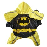 Dogloveit Superhero Style Waterproof Raincoat Dog Costume For Pet Puppy - 2