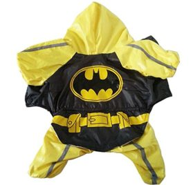 Dogloveit Superhero Style Waterproof Raincoat Dog Costume For Pet Puppy - 2