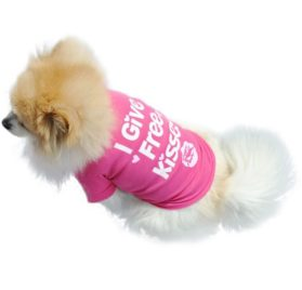 Binmer(TM)Fashion Pet Dog Clothes Cat Puppy Pet Puppy Spring Summer Shirt Small Pet Clothes Vest T Shirt - 3