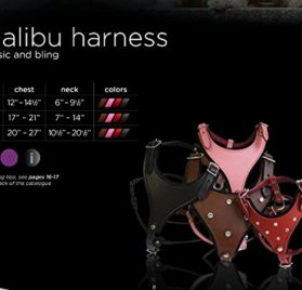 Leather Dog Harness (Malibu Classic). 5
