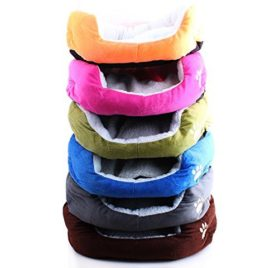 Topunion Classic Waterproof Warm Cashmere Soft Kennel / Pet Nest Color Random - 2
