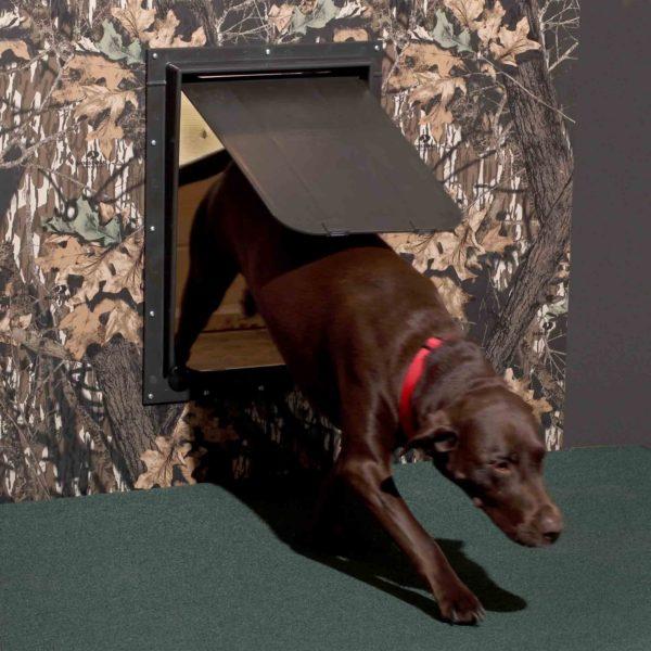 Magnador Kennel Dog Doors - 1
