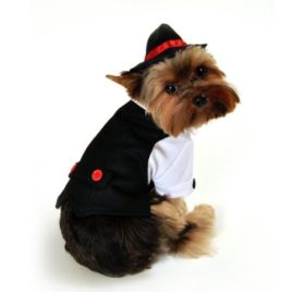 Gangster Dog Costume Size: X-Small