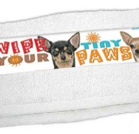 Chihuahua Paw Wipe Towel