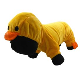 Alfie Couture Designer Pet Apparel - Dac Duckie Costume Jumper - Color: Orange - 1