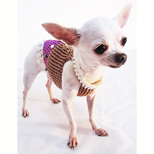 Puppy Costume Small Medium Big Dogs Df26 By Myknitt – Free Shipping
