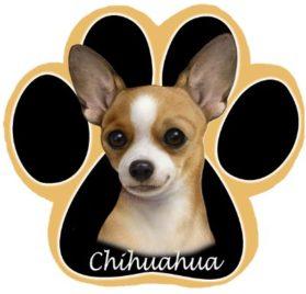 Chihuahua Dog Paw Non-Slip Mousepad