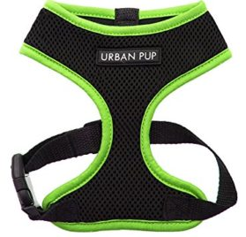 UrbanPup Active Mesh Neon Green Harness