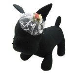 Alfie Pet by Petoga Couture - Hilary Bridal Wedding Clip Veil with Fabric Storage Bag - 6
