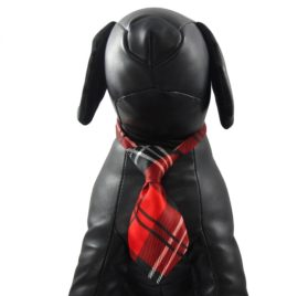 Alfie Pet by Petoga Couture - Set of 2 Qun Formal Dog Tie and Adjustable Collar 3