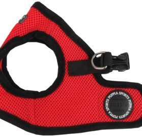 "Puppia Dog Mesh Harness ""Vest Soft"" Red"