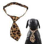 Qun Formal Dog Tie and Adjustable Collar 5