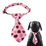 Qun Formal Dog Tie and Adjustable Collar 4