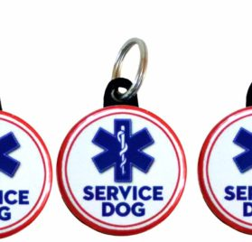 Henry the Buttonsmith Service Dog Tag Set