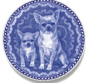 Chihuahua - Smooth Coat Lekven Design Dog Plate