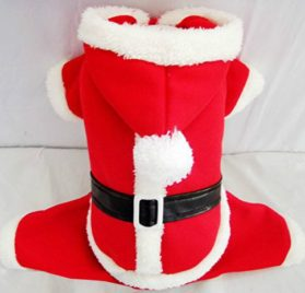 Dogloveit Dog Christmas Costumes Pet Dog Cat Xmas Costume Winter Clothes - 1
