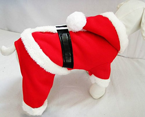 dogloveit dog christmas costumes pet dog cat xmas costume winter clothes 5