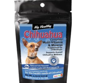 My Healthy Chihuahua Gluten Free Multivitamin and Mineral Supplement - 60 Fish Flavored Chews