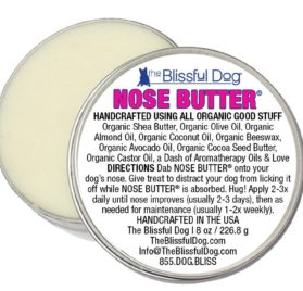 The Blissful Dog Smoot Coat Chihuahua Nose Butter, 8-Ounce 2