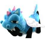 Alfie Couture Designer Pet Apparel - Smokie the Dragon Dinosaur Costume Blue 4